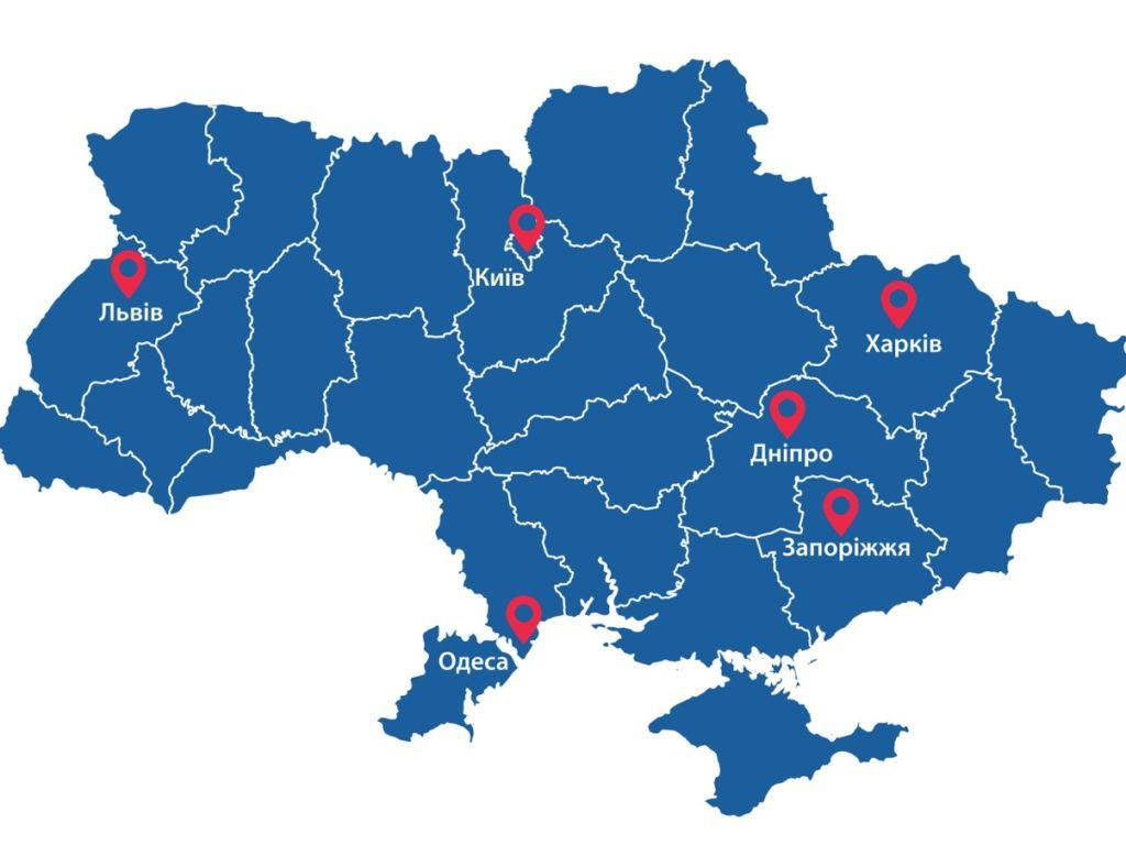 Компания «Ежак Ресторация» открывает свои филиалы в крупнейших городах Украины